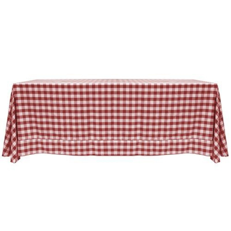 ... Red And White Checkered Tablecloth ...