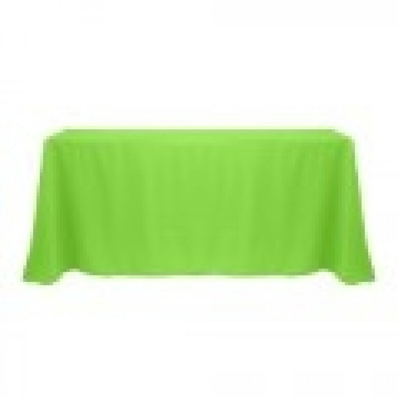 Neon Green Tablecloth For Flare At A Party Or Wedding Theme