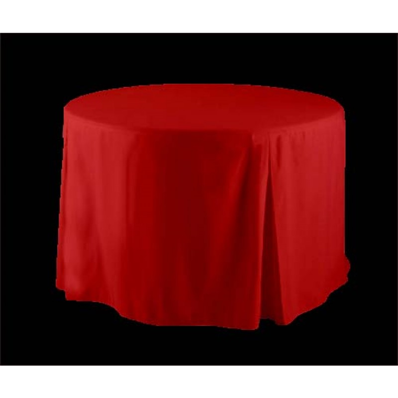 Red 30 Inch Round Tablecloth
