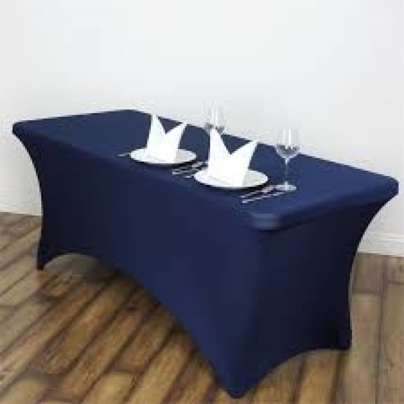 4 Foot X 29 Inch Tall Spandex Fitted Table Cloth