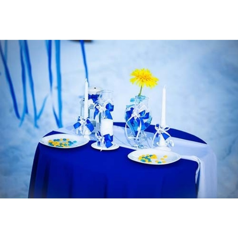 Round Tablecloth Wedding Reception ...