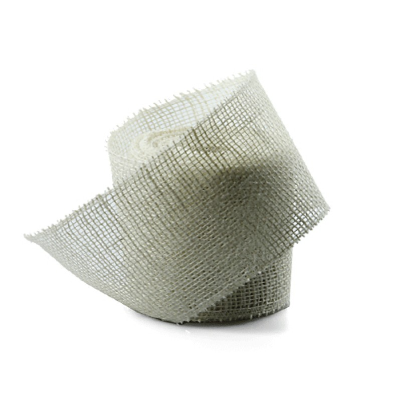 Shop And Save For White Jute Ribbon 2 5 Inch Wide X 10 Yards