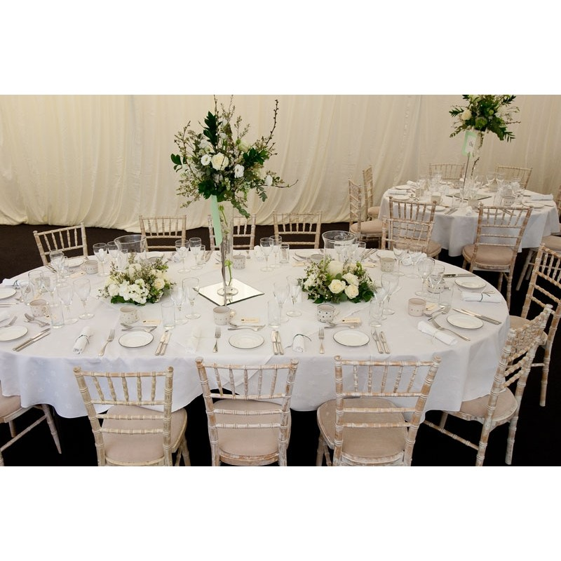 70 X 120 Inch Oval Polyester Tablecloth
