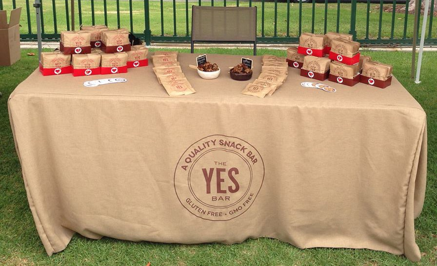 5 Ft X 29 Burlap Tablecloth Custom Printed Event Linens