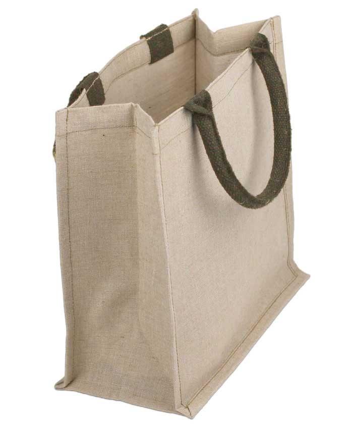 Burlap Euro Bag Jute Amp Cotton Blend Tote