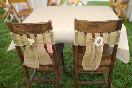 Gentil Burlap U0026 Polyester Tablecloths And Linens