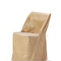Jute Burlap Banquet Chair Cover