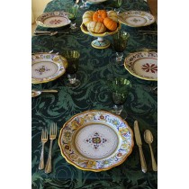 "60"" x 108"" Melrose Damask Tablecloth"