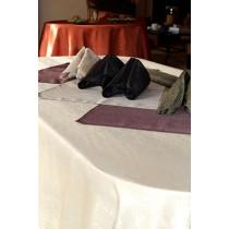 """60""""x144"""" Kenya Damask Tablecloth"""