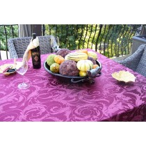 "60"" x 90"" Melrose Damask Tablecloth"