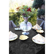 "72"" x 72"" Square Melrose Damask Tablecloth"