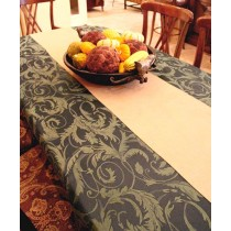 "72"" x 120"" Melrose Damask Tablecloth"