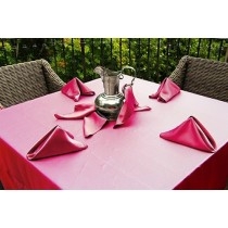 Satin Wedding Tablecloth