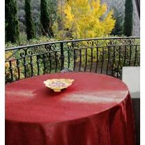 84 inch round tablecloth Kenya Damask