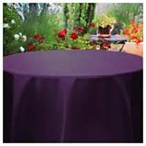 "90"" Round Satin Tablecloth"