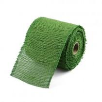 Green Jute Ribbon 2.5 inch wide-10 yards