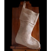 Jute Burlap Stocking