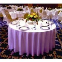 "102"" Round Majestic Dupioni Tablecloth"