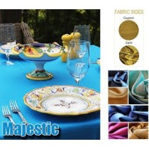 majestic table linens