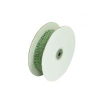Jute Ribbon mint open weave 1.5 inch wide-10 yards