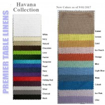 Havana tablecloths colors