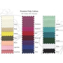 "Poly Cotton Twill Fabric 72"" Wide"