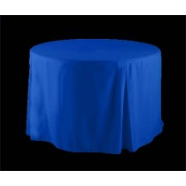 "36"" Round Fitted Tablecloth Poly Premier"
