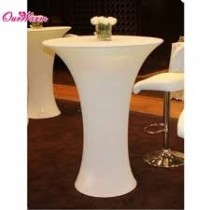 "24"" x 42"" Spandex Table Cover For Round Base"