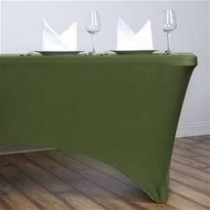 "8'L x 42""H Spandex Rectangular Table Cover"