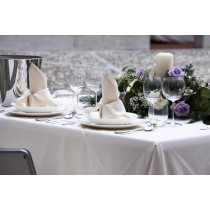 "90"" x 132"" Rectangular Polyester Tablecloth"