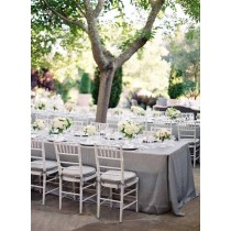 tablecloth wedding reception