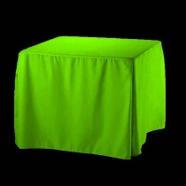 "60"" x 60"" Square Fitted Tablecloth Poly Premier"