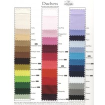 Duchess swatch card for table linen fabrics