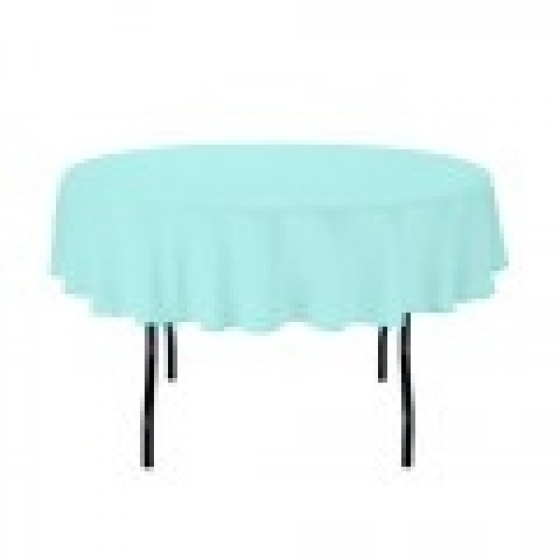 ... Baby Blue Oval Tablecloth For Birthday Parties ...