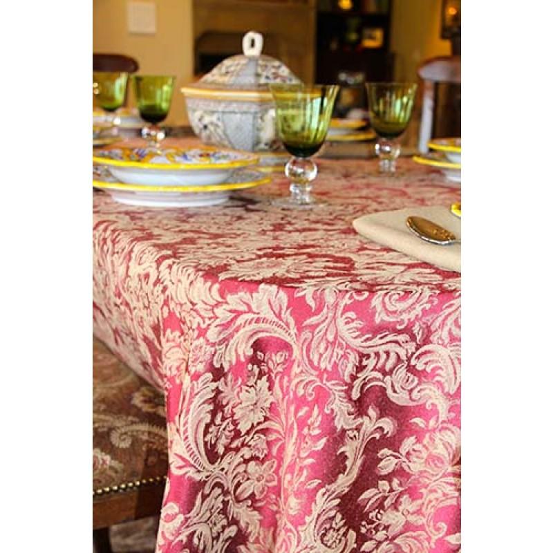Miranda Damask English Rose Formal Dinner