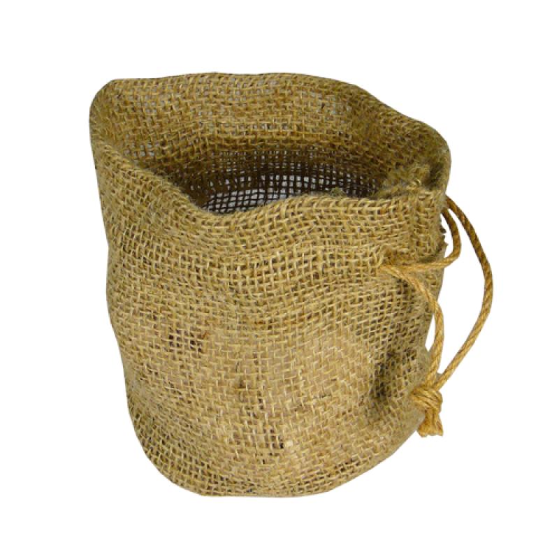 Shop On Burlap Plant Bag Natural 11 X 9 X 6 Biodegradable
