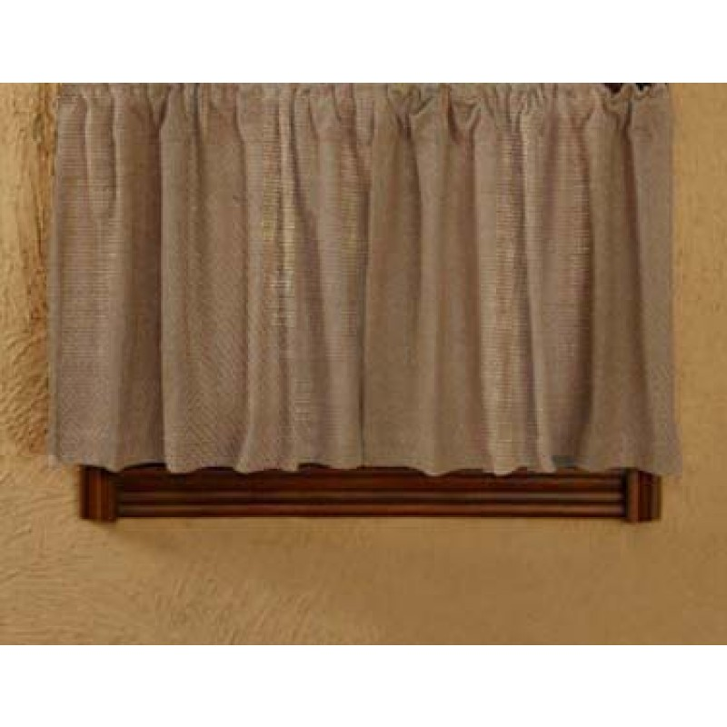 Natural Burlap Curtains 36 x 60 inches