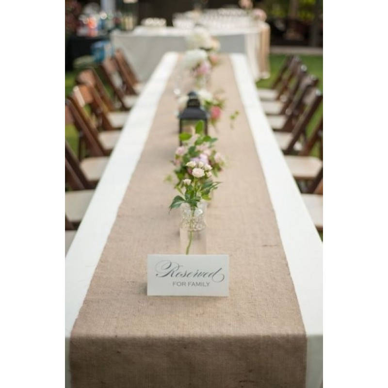 Burlap Table Runner 13 X 90 Premier Table Linens