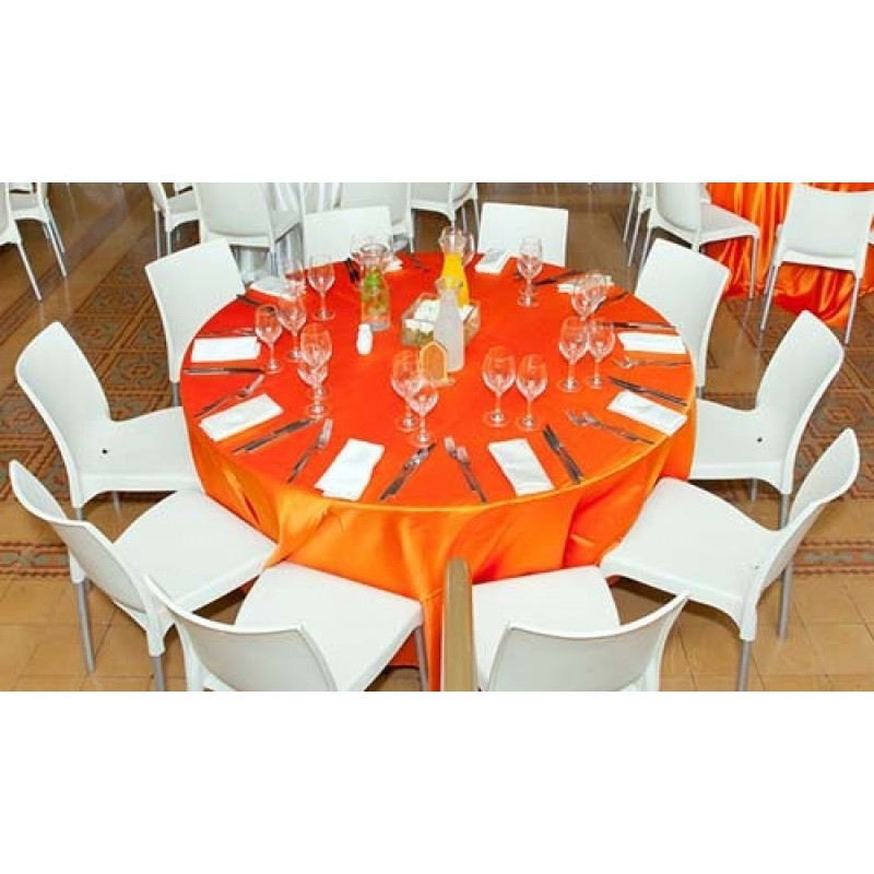 132 Inch Round Duchess Tablecloth
