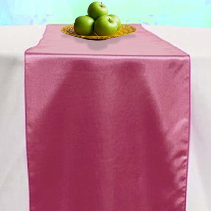 Satin Rose Table Runner
