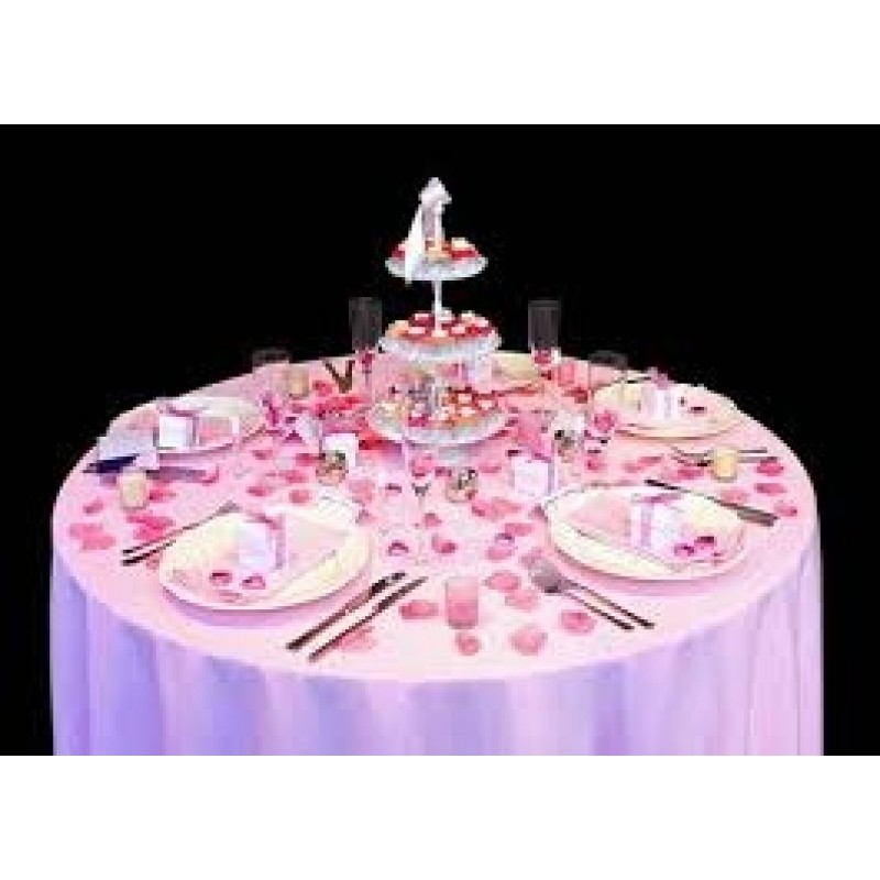 60 Inch Round Majestic Dupioni Tablecloth