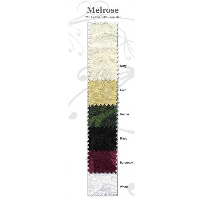 Melrose Damask Color swatch linens