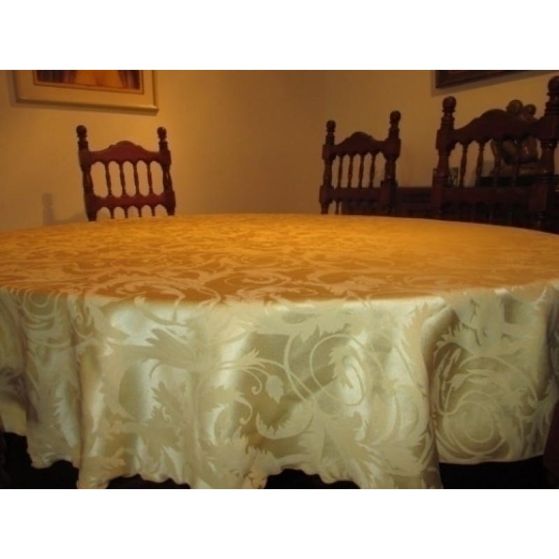 damask melrose tablecloth