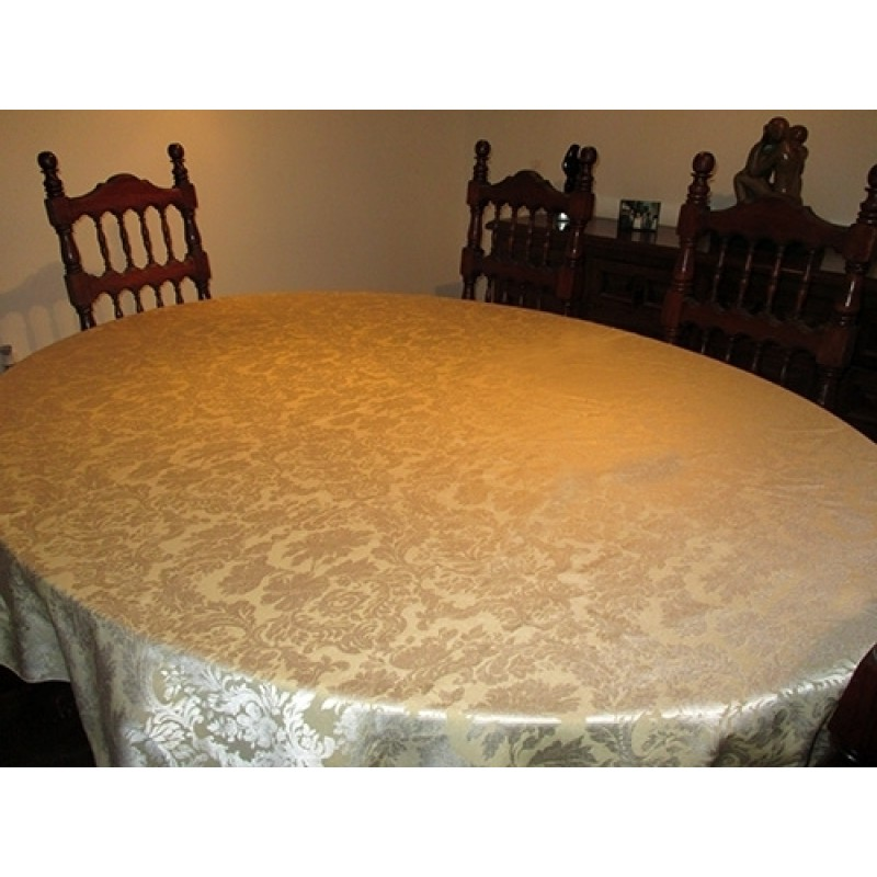 dining oval tablecloth