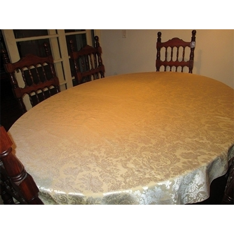 Damask Oval Table cloth
