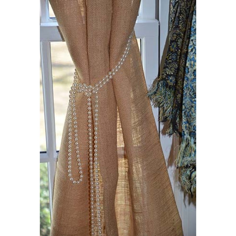 Online tablecloth store for burlap drapes 108 high x 60 wide for 60 burlap