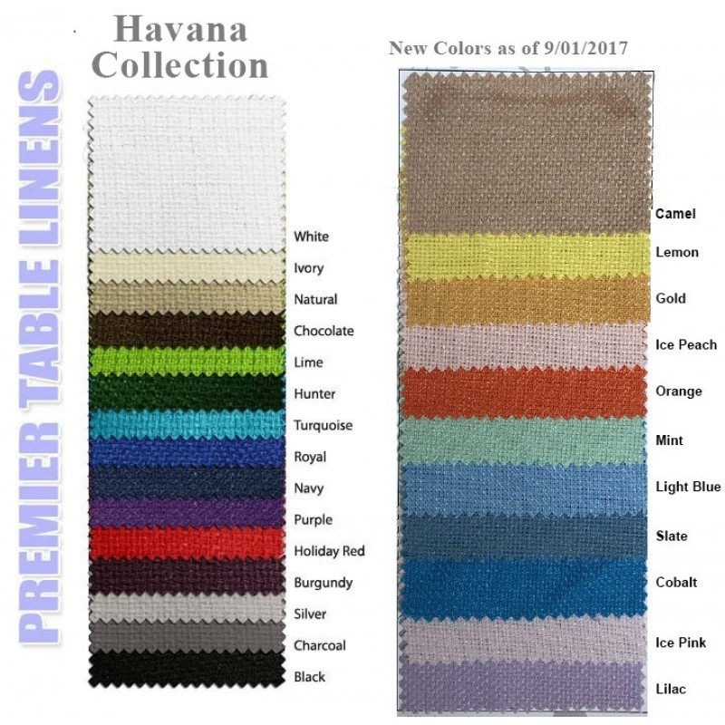 Havana Color Swatches