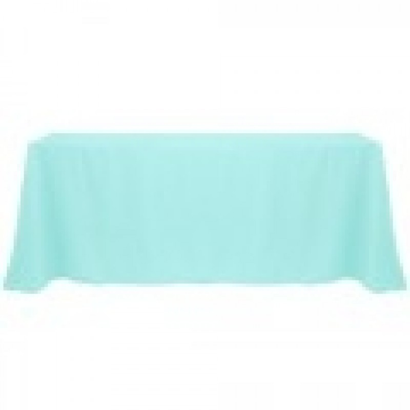 Attirant ... Aqua Rectangle Tablecloth ...