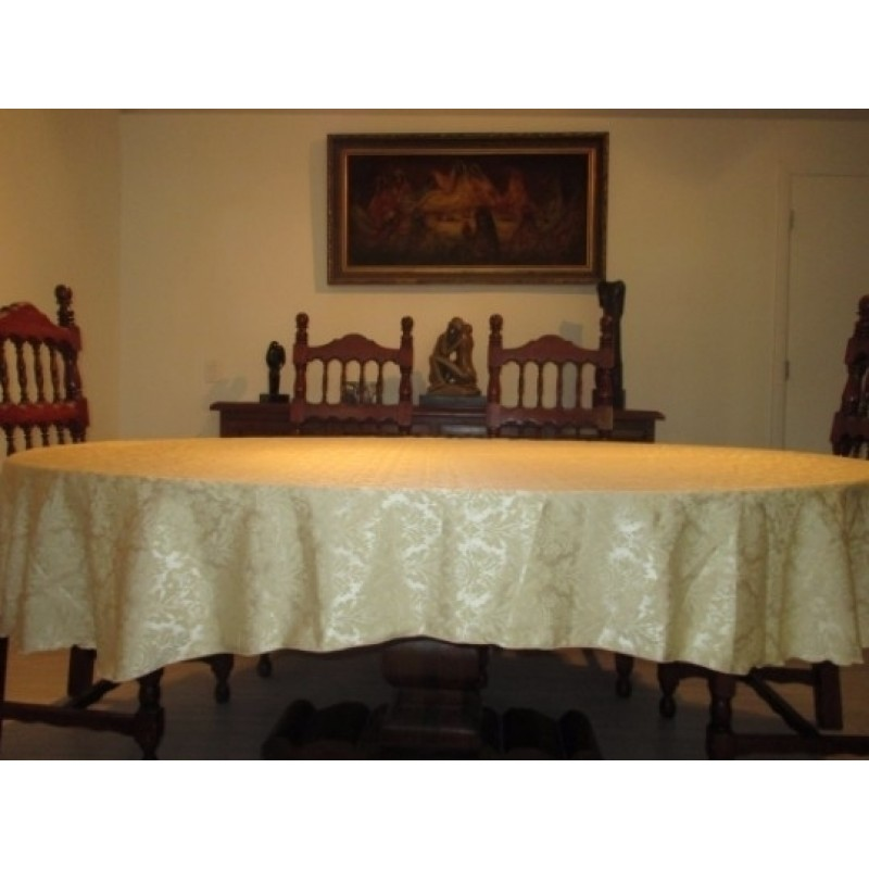 damask home table cloth