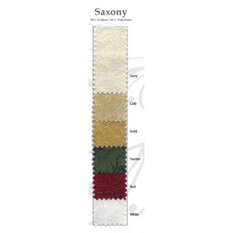 Saxony damask swatch color card